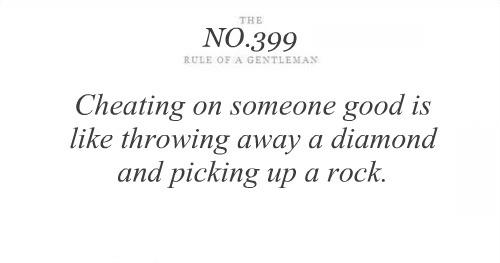 Cheating On Someone Good Is Like throwing away a Diamond and Picking Up a Rock ~ Astrology Quote