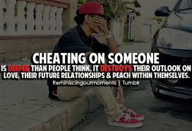 Cheating On Someone Is Deeper Than People think…