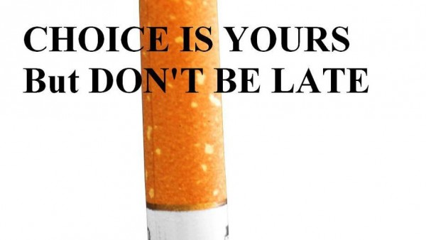 Choice Is Yours But Don't be Late. - Awareness Quotes