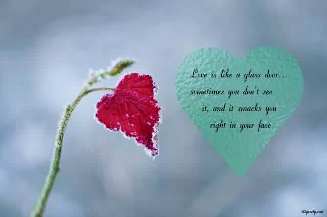 Cute Love quote heart message