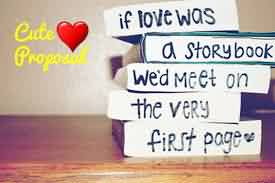 Cute Love Quote Image-Cute Proposal