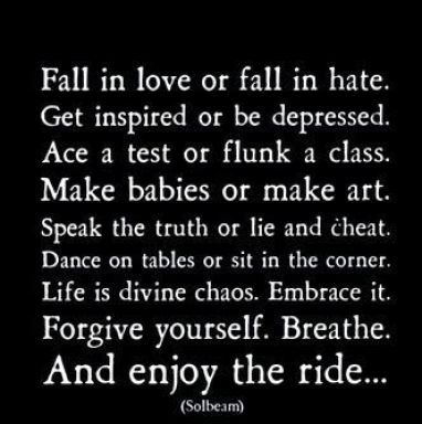 """ Fall In Love Or Fall In The Get Inspired Or Be Depressed. Ace A Test Or Flunk A Class. Make Babies The Truth Of Lie And Cheat..~ CheatingQuote"