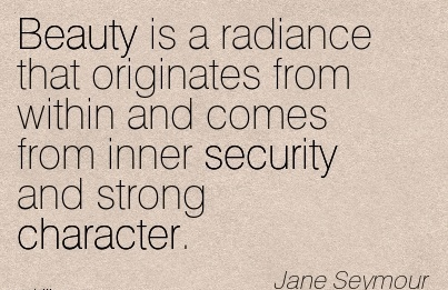 Having to Struggle Gave me the Chance to Demonstrate Strength of Character. The Speed of Dark. - Jane Seymour