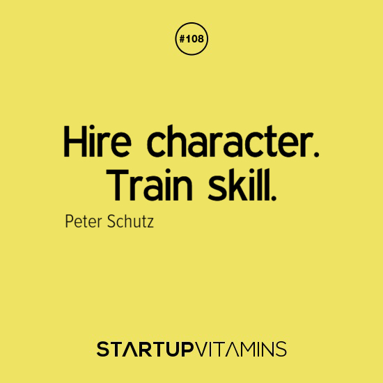 Hire Character Train Skill. - Peter Schutz