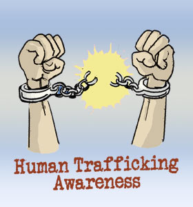 Human Trafficking Awareness.