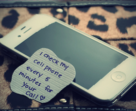 I Check my Cell phone Every 5 minute For your For Call - Cheating Quotes