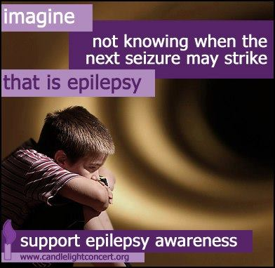I,agine Not Knowing When the Next Seizure MAy Strike That is Epilepsy Support Epilepsy Awareness.