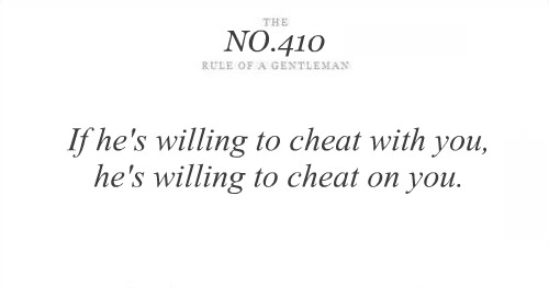 If He's Willing to Cheat With You,He's Willing to Cheat On You ~ Astrology Quote