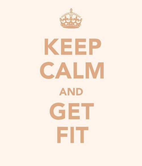 keep Calm And get Fit - Cheating Quotes