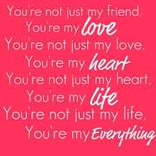 Love Life Quote-My Love you are my Life
