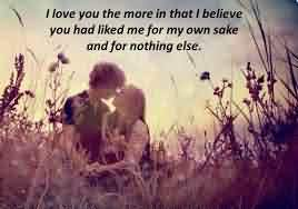Love Like Quote-Like me for my own sake