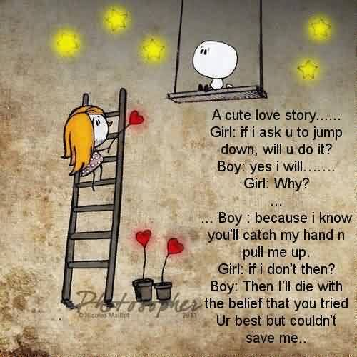 Love Quote-Cute Love Story