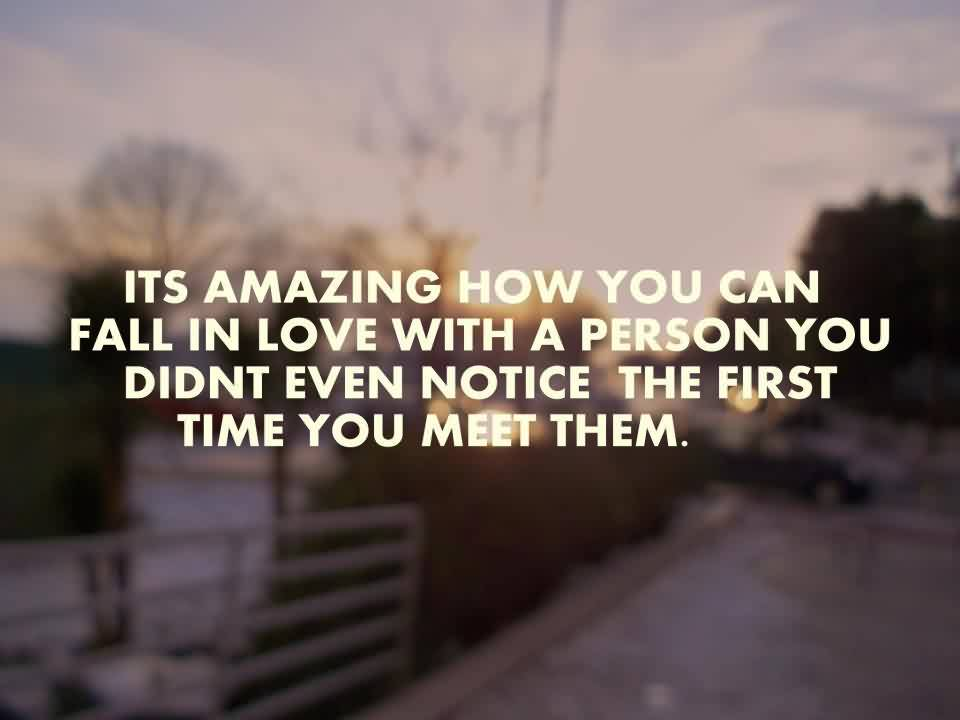 Love Quote-Fall in Love With Perfect person