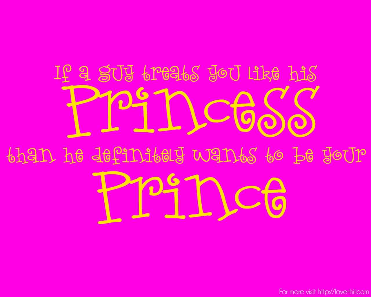 Love quote for her-Wants to be your prince