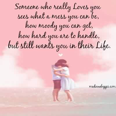 Love Quote-How hard Love is to be handle