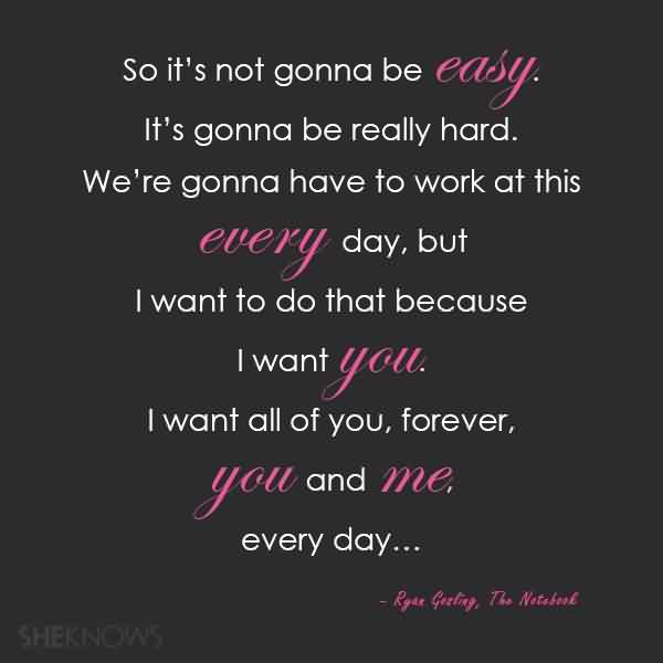 Love Quote-I want all of you forever