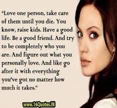 Love Quote Image-Love one person