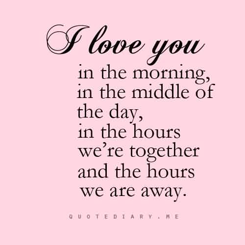 Love Quote-Love You always