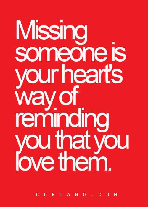 Love Quote-Missing Someone Message