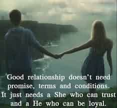 Love Relationship Promise Quote-Love Doesn't need any Promise
