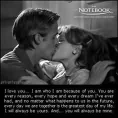 Love Romantic Cute Quote-I will always be yours