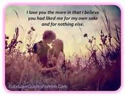 Love Romantic Quote-I love you that i Believe