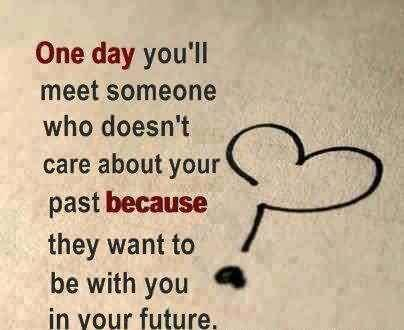 Love Romantic Quote-Want to be with you in your future