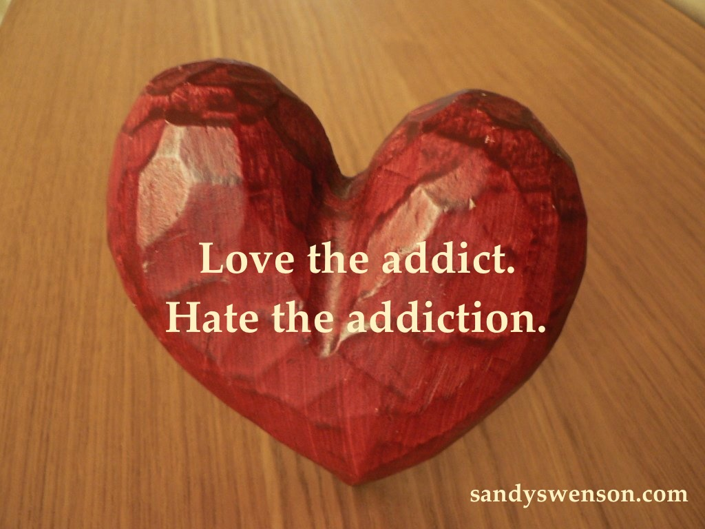 Love The Addict. Hate The Addiction.