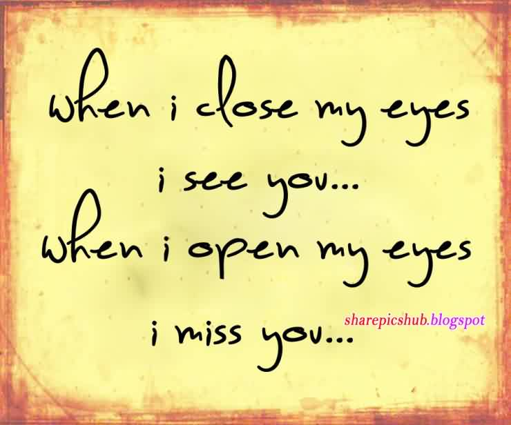 MIss You Love Quote