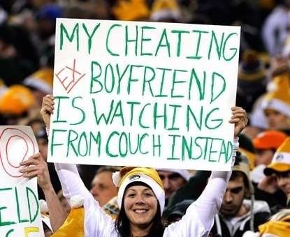My Cheating Ex Boyfriend Is Watching From Couch Instead.