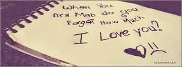 New Love Quote Image-Do you forget how much i Love You