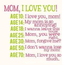 New Nice Love Quote for Mom