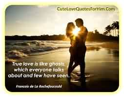 New Short LoveQuote-Love is Like Ghost