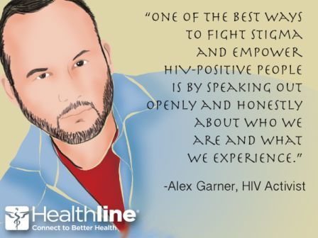 One Of The BEst Ways To Fight Stigma And Empower HIV- Positive PEople Is By Speaking Out Openly And Honestly About Who We Are And What We Experience. - Awareness Quote