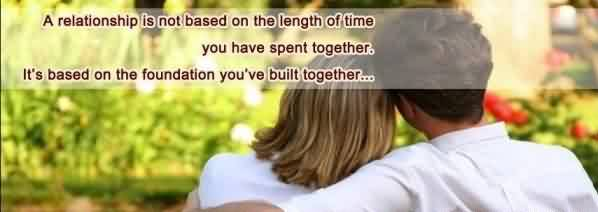 Romantic Love Relationship Quote Image-Love Doesn't depends on the time which you spent together