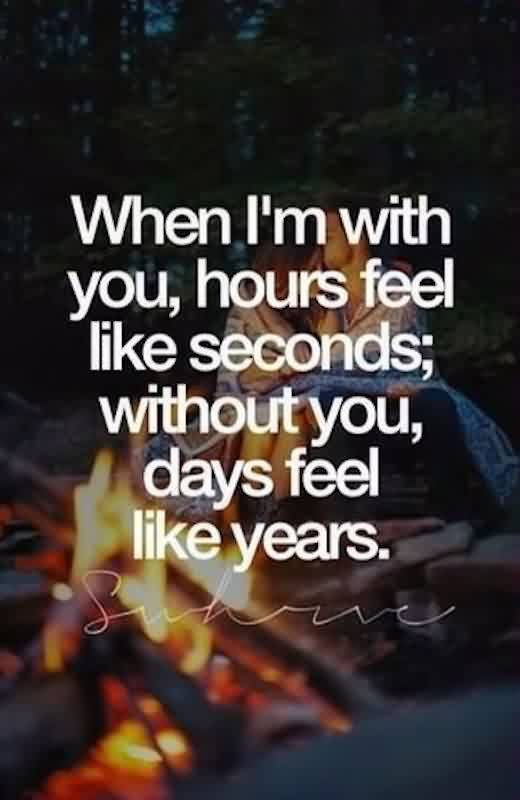 Romantic Short Love QuoteDays Feel Like Years Without You Classy Romantic Short Quotes