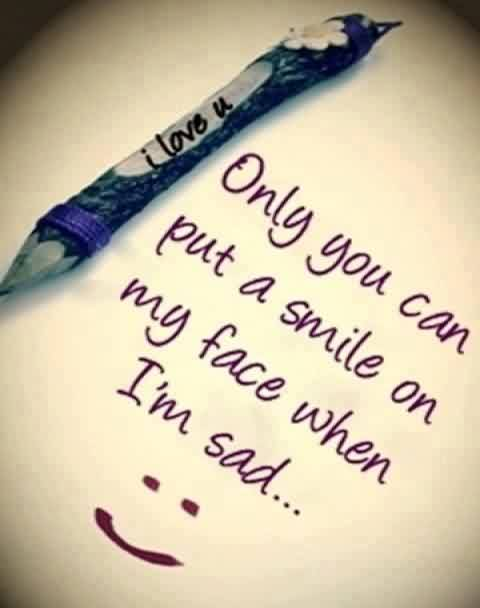 Sweet Love Quote Image-I Love you
