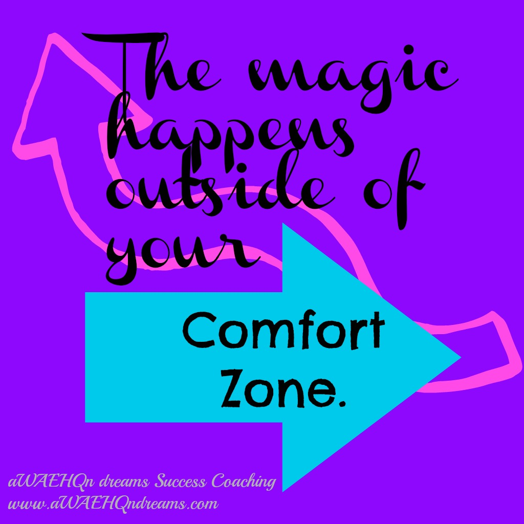 The Magic Happens outside Of you Comfort Zone… - True Comfort Quotes