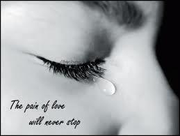 The Pain Of love Will never Stop  - Cheating Quote