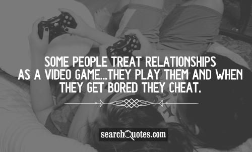 They Play Them And When they get Bored they Cheat.