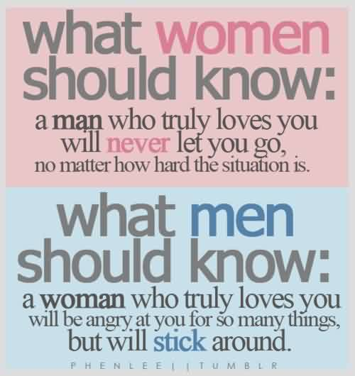 True Love Quote for him or her-What Man Women Should Know