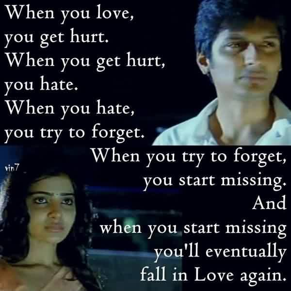 True Love Quote Image-Miss You never wanna forget you