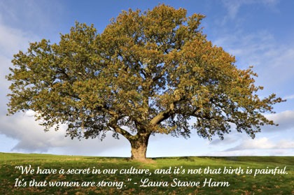We Have A Secret In Our Culture, And it's Not That Birth Is Painful. It's That Woman Are Strong. - Laura Stavoe
