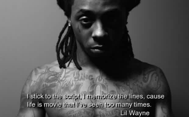 Amazing  Celebrity Quote By Lil Wayne ~ I've seen too many times.