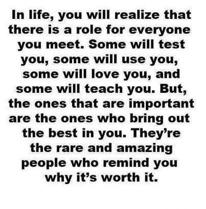 Amazing Life Quotes - There are rare and amazing people who remind you