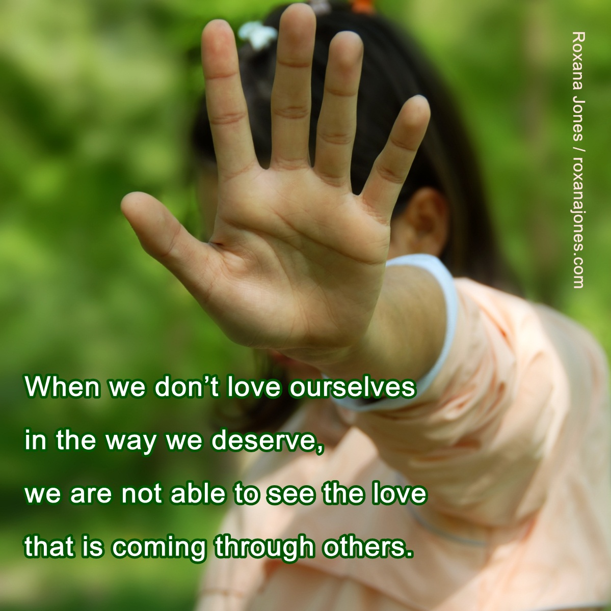 Awesome Clarity Quote ~ When we don't love ourselves in the way we deserve..