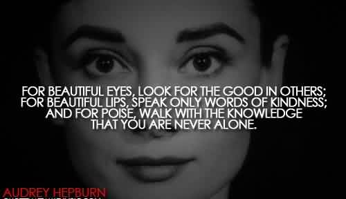Beautiful Quote - You are never alone