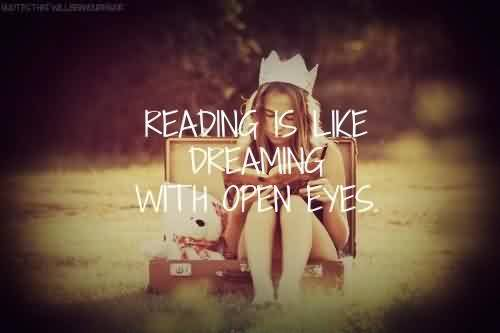 Beautiful Quotes ~ Dreaming with open eyes.