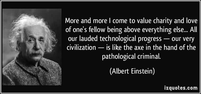 Albert Einstein Quotes Charity