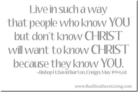 Best Church Quote By Bishop~Live in such a way that people who know you but don't Know Christ